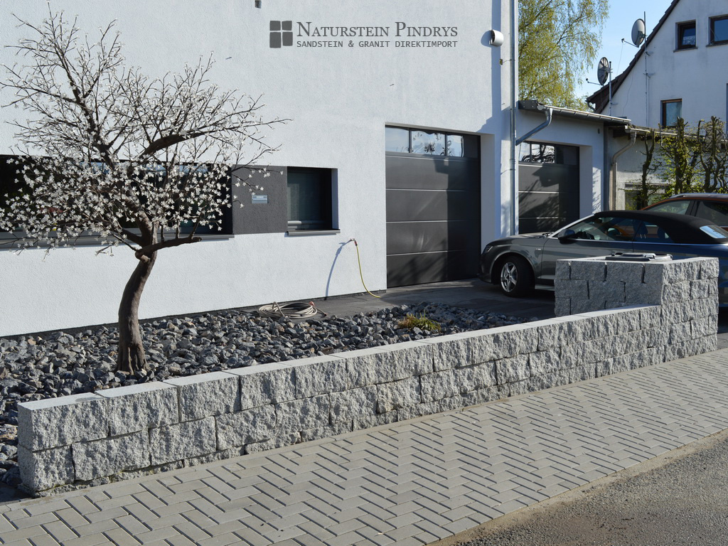 20x20x40 cm granit mauersteine 2x ges gt. Black Bedroom Furniture Sets. Home Design Ideas